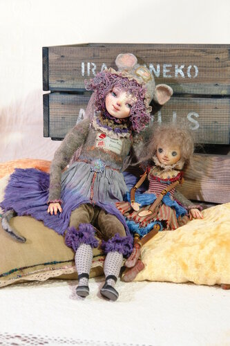 Авторские куклы Иры Дейнеко