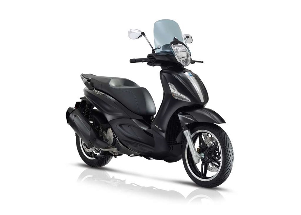 Скутеры Piaggio Beverly 300/350 by Police 2018