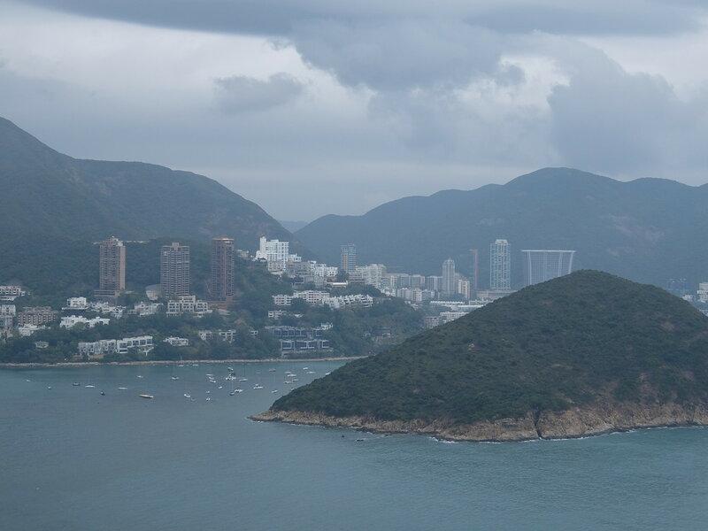 Гонконг - Oкеанический парк - Вид с канатной дороги