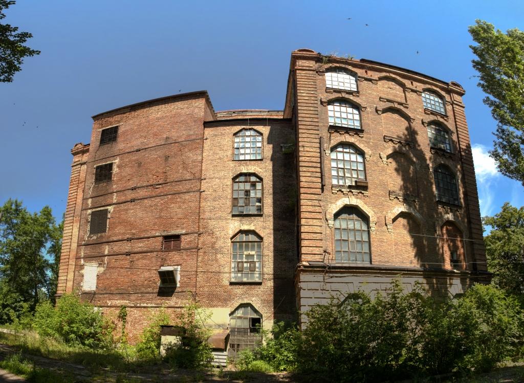 Заброшенная текстильная фабрика