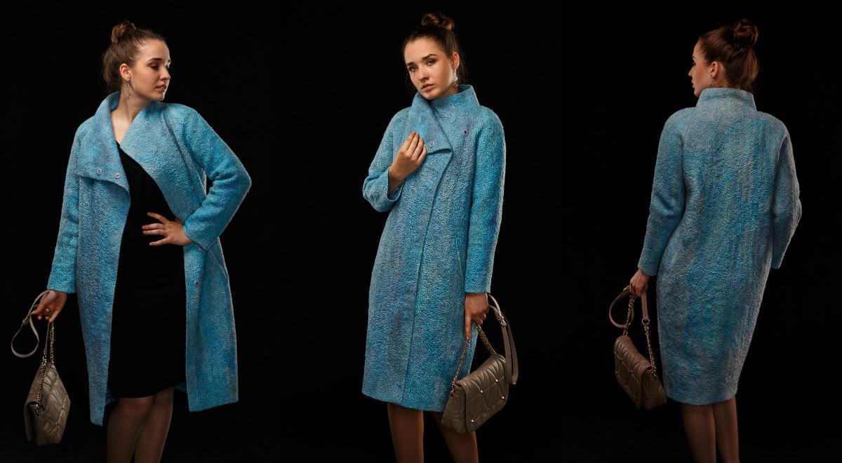 """Катерина Коршун. Пальто """"Шелковый каракуль"""""""
