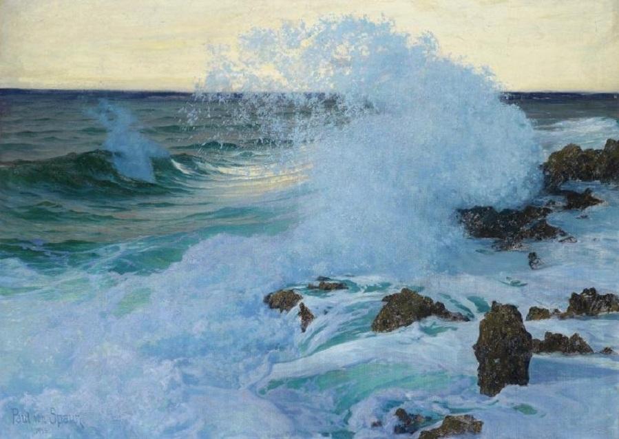 Breaking Waves, 1918.