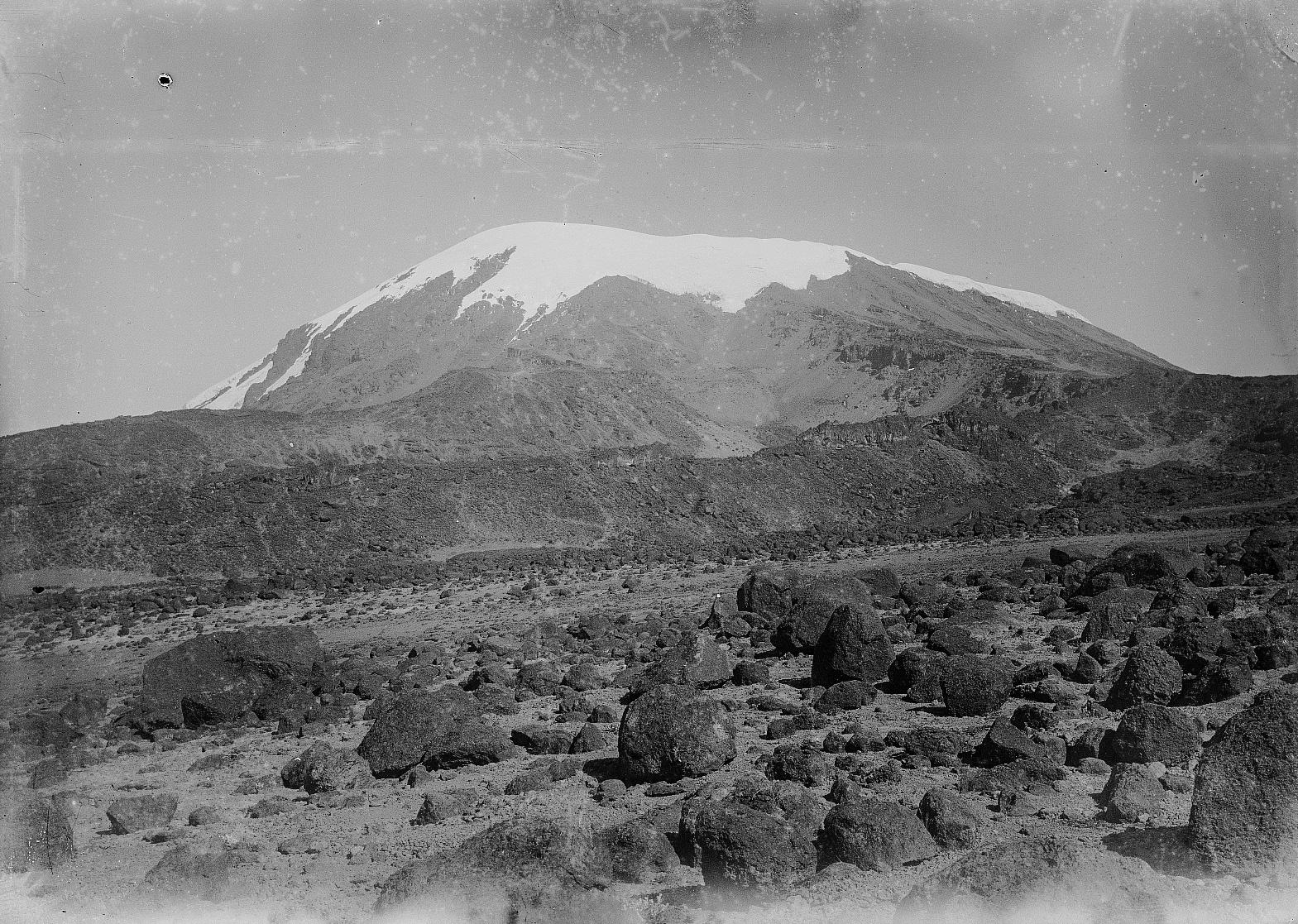 02. Килиманджаро. Вид Кибо