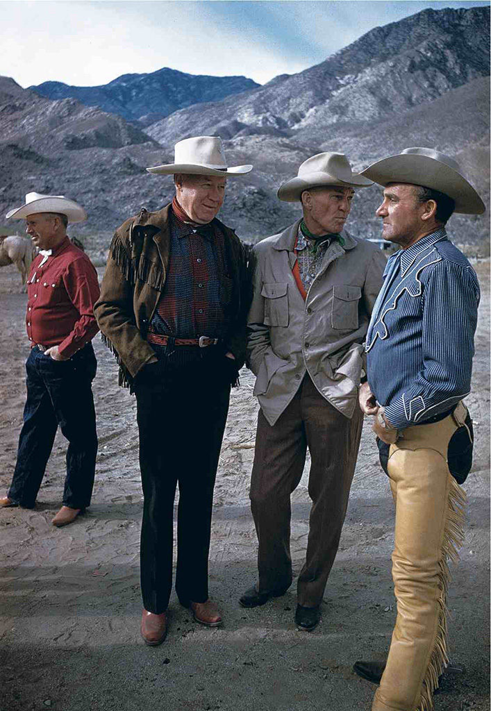 1960. Старые ковбои. Палм-Спрингс