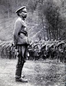 Генерал Л. Г. Корнилов. 1917