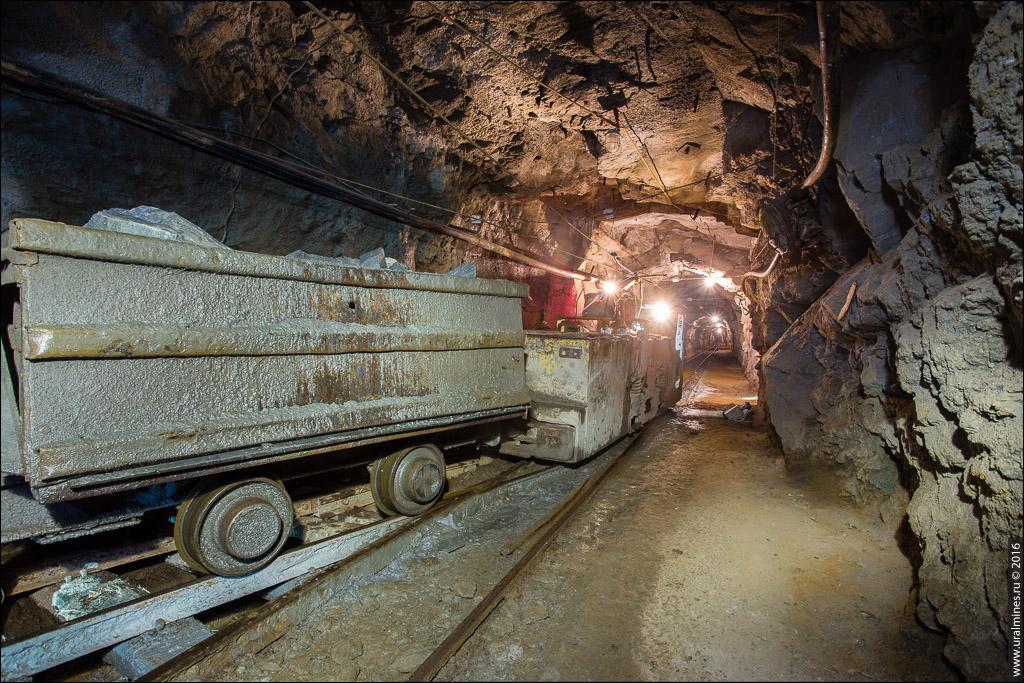 Березовский рудник шахта