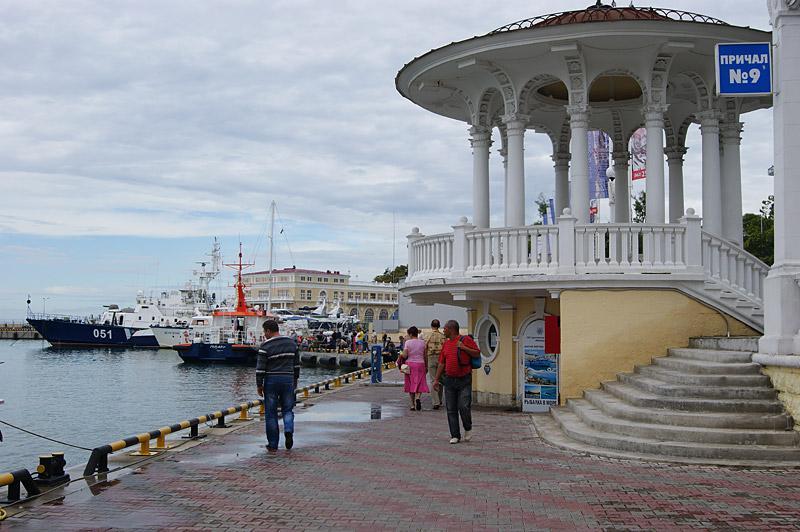 Ротонда, морской вокзал, Сочи