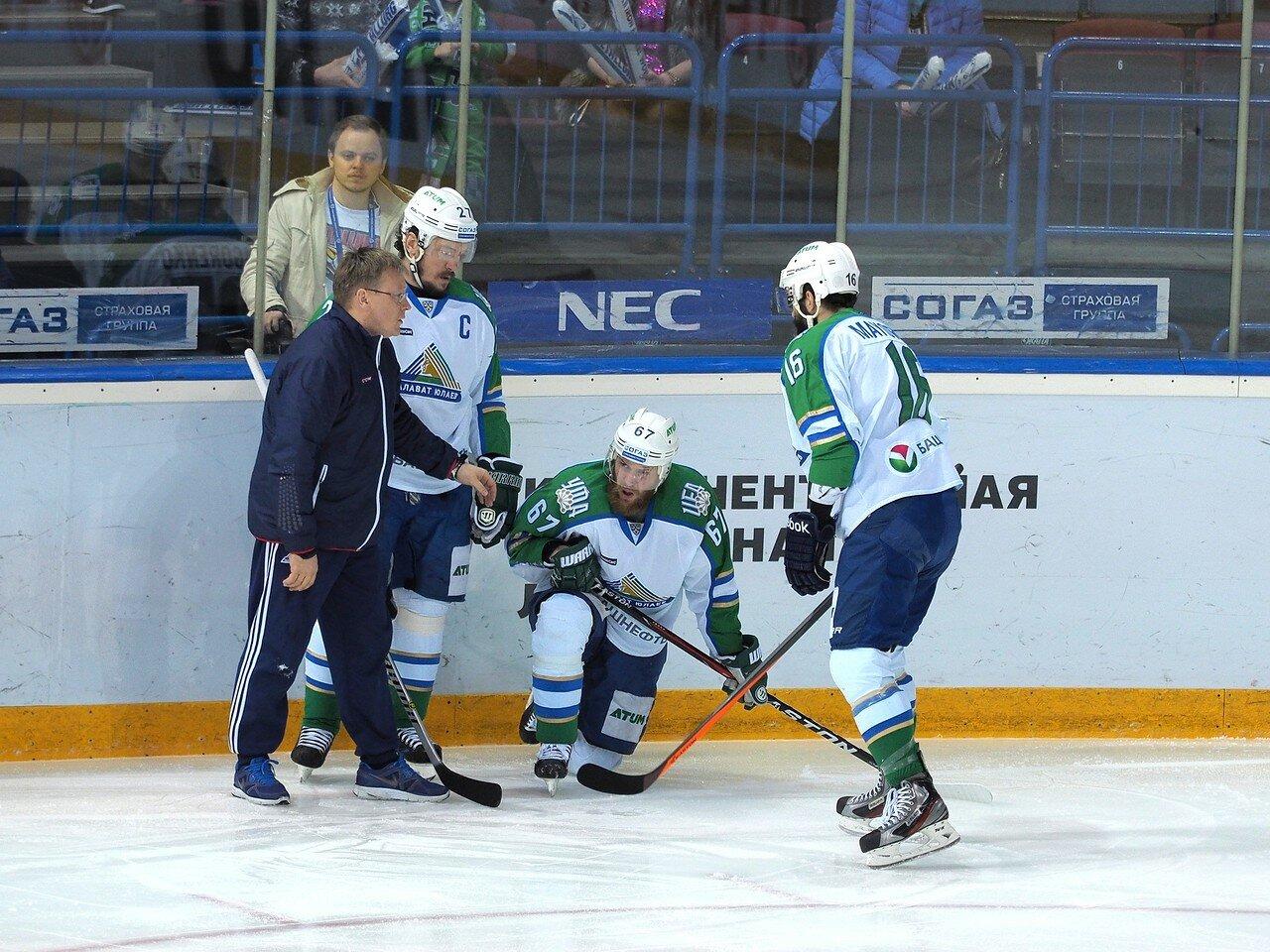 45Плей-офф 2016 Восток Финал Металлург - Салават Юлаев 31.03.2016