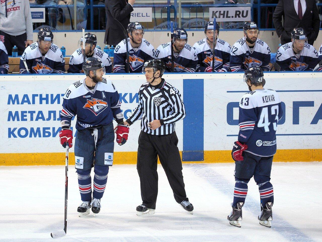 72Плей-офф 2016 Восток Финал Металлург - Салават Юлаев 31.03.2016