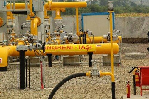 Газопровод Яссы-Унгены простаивает без работы