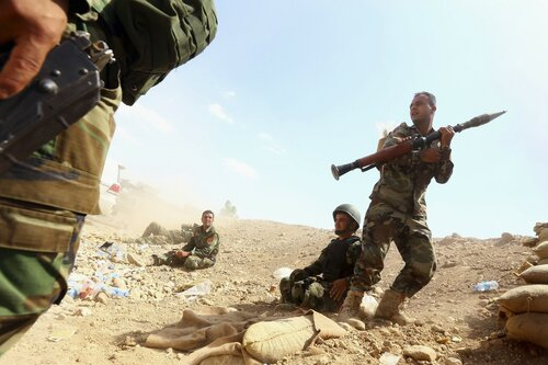 Армия Ирака освобождает город Эр-Рутба от ИГИЛ