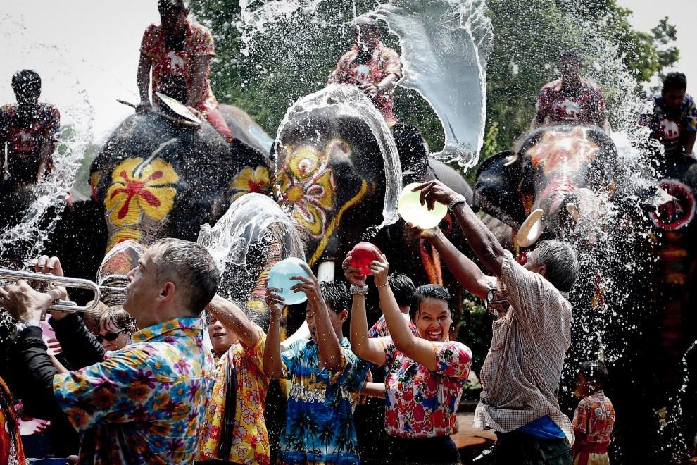 Мокрый Новый год в Таиланде