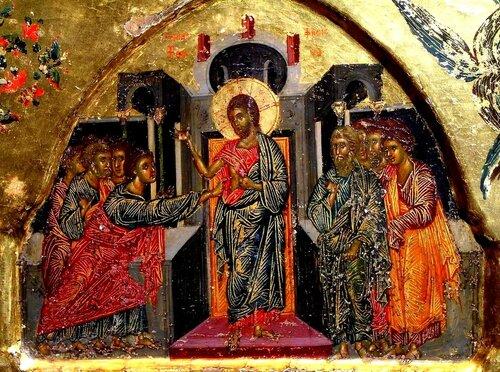 Уверение Апостола Фомы.