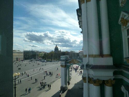 Дворцовая площадь весна 2014