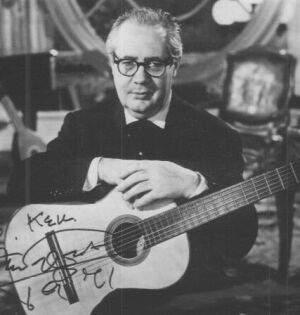 Андрес Сеговия