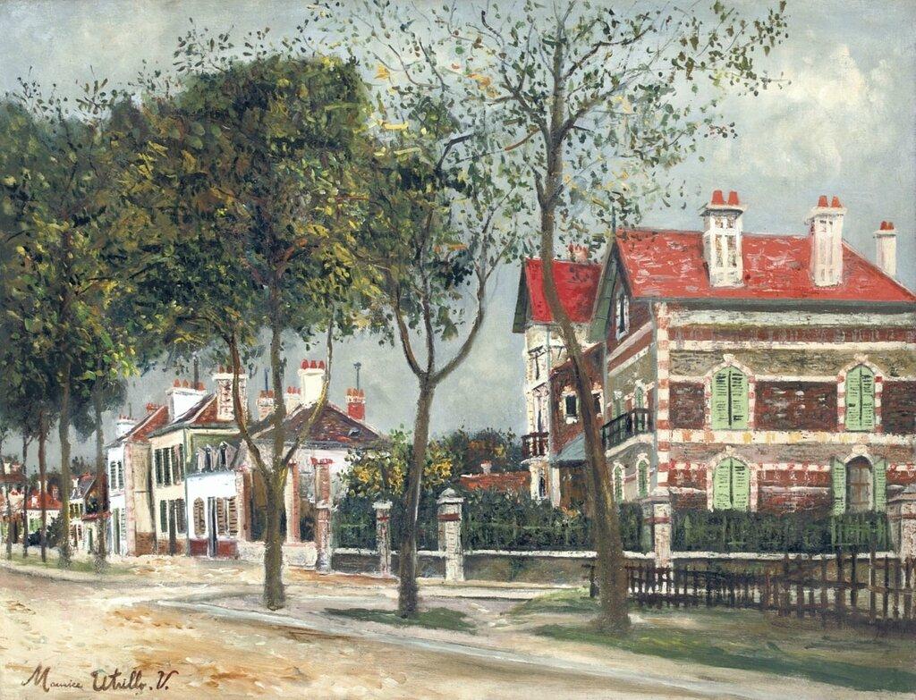 Boulevard Carnot at Noyon, 1914.jpg