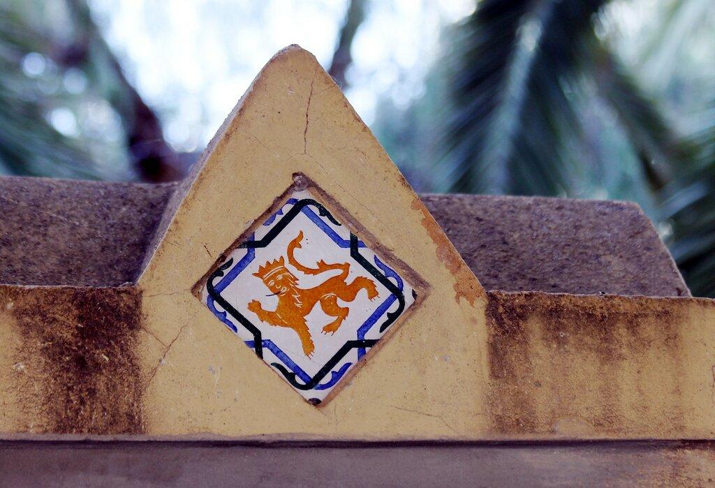 Малага. Ограда дворца Мирамар