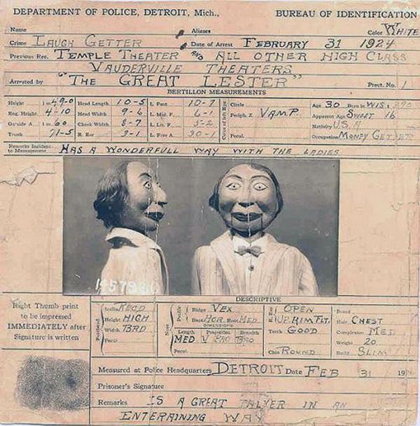 Кукольник Эдгар Берген был настолько привязан к своему деревянному другу, что считал его членом семь