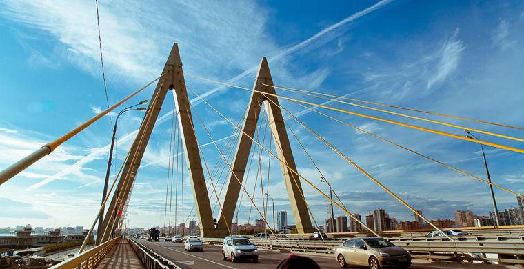 7. «Миллениум», Казань Название этого моста с татарского переводится как «миллениум». Именно поэтому