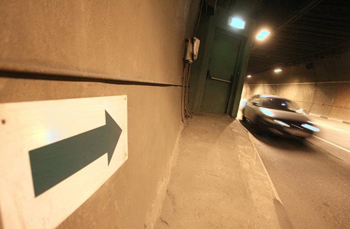 Лефортовский тоннель в столице России  будут чинить  ночами