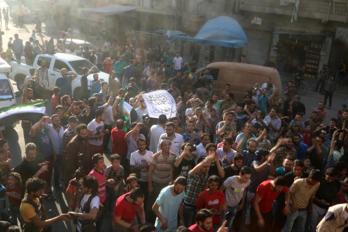 Войска сирийской оппозиции прорвали окружение Алеппо