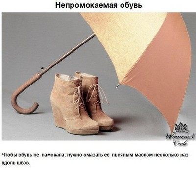 Уход за обувью лайфхаки