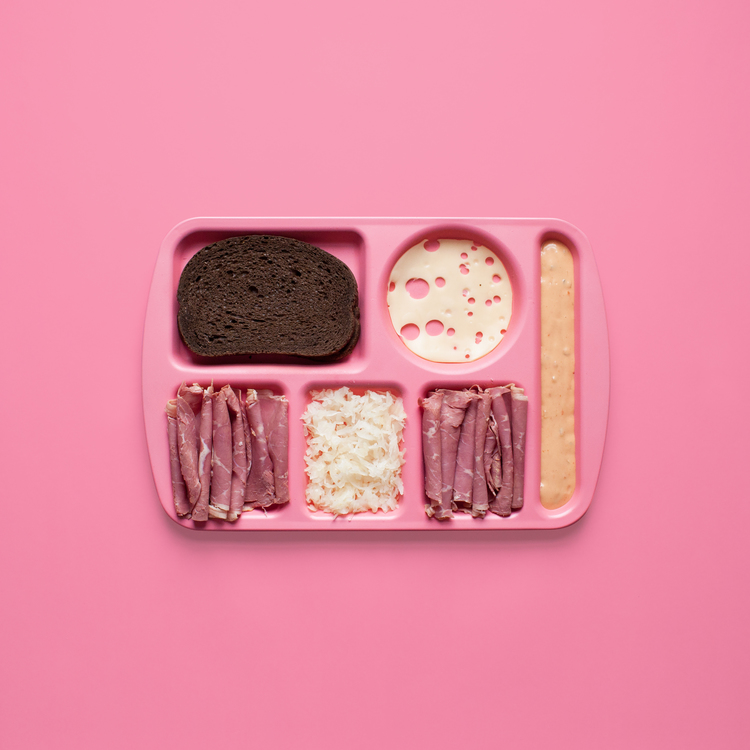 Deconstructed Sandwiches Pictures Series