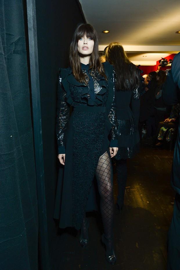 #PFW Emanuel Ungaro FW16 Backstage Moments - Design Scene - Fashion, Photography, Style & Design