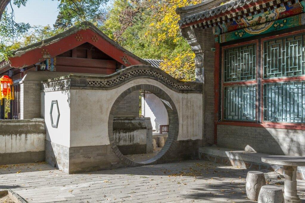 Лунные ворота, парк Ихэюань, Пекин