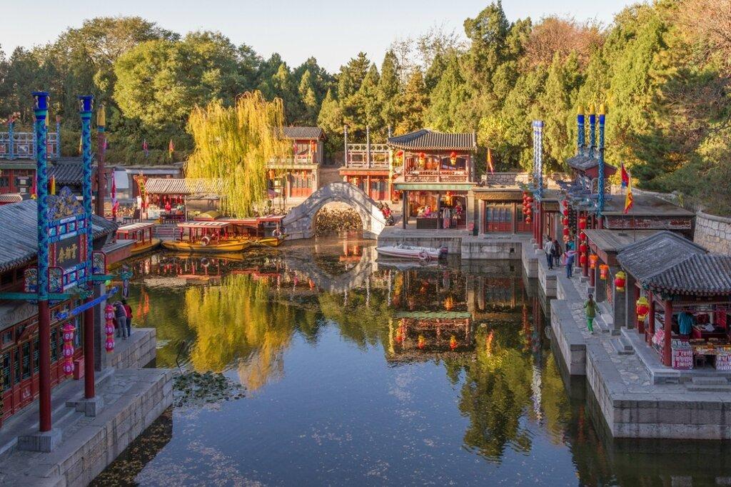 парк Ихэюань, Летний императорский дворец, улица Сучжоу, Пекин