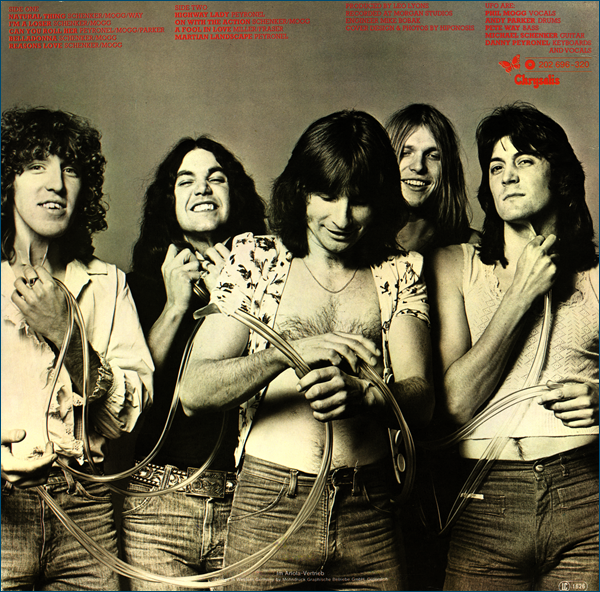 Ufo - британская рок-группа, образованная в 1969 году