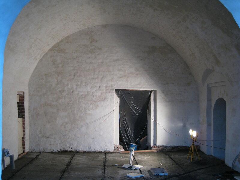 11. Общий вид на отреставрированное помещение. Поваренный корпус 1570-х гг