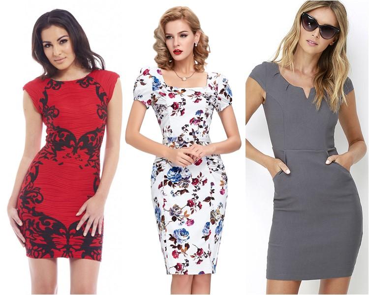Модные короткие платья 2016 фото 6