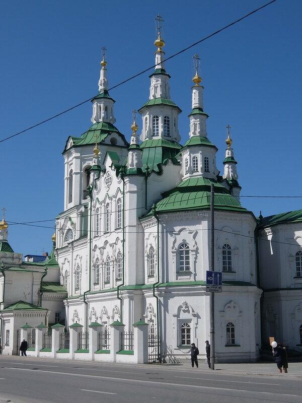 Тюмень - Спасская церковь