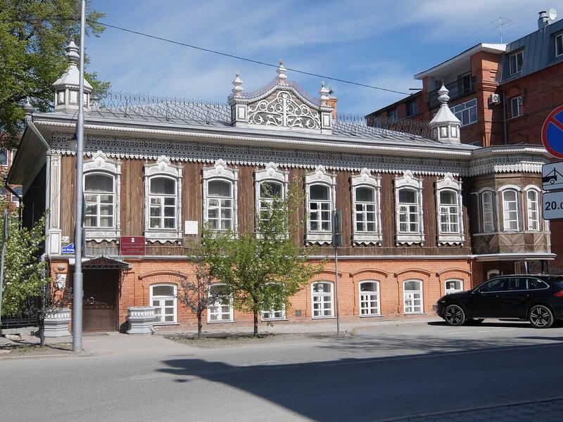 Тюмень - Дом Поповой