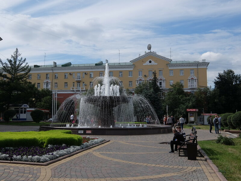 Кемерово - Фонтан у драмтеатра