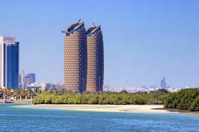 Башни Al Bahar. ОАЭ