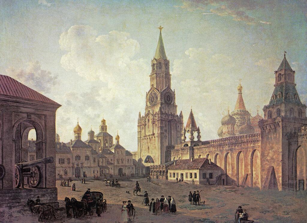 459489 Вид в Кремле у Спасских ворот.jpg