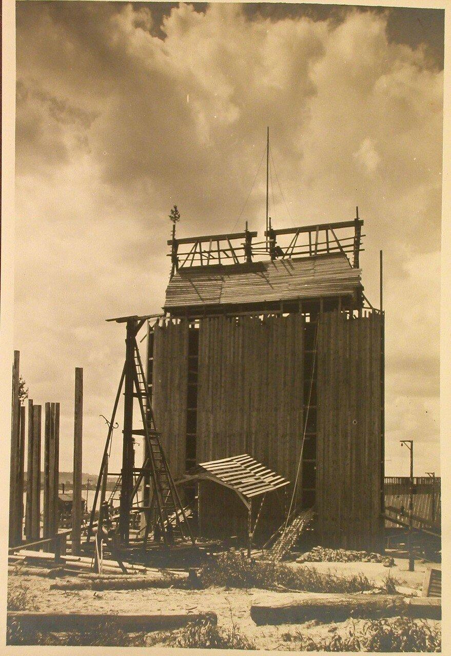 05. Вид кессона № 4 для нового железнодорожного моста