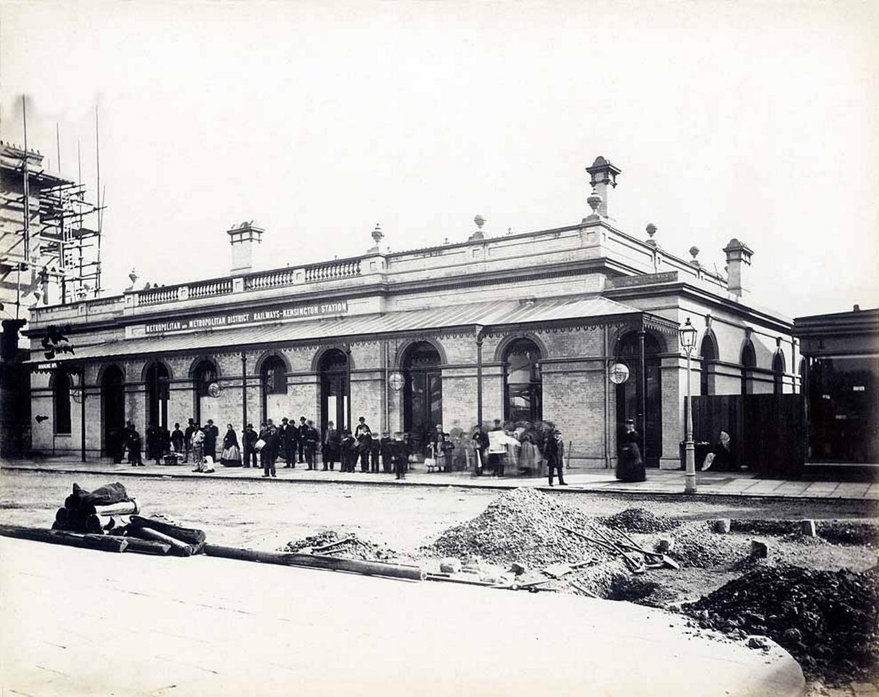 1868. Станция «Паддингтон»
