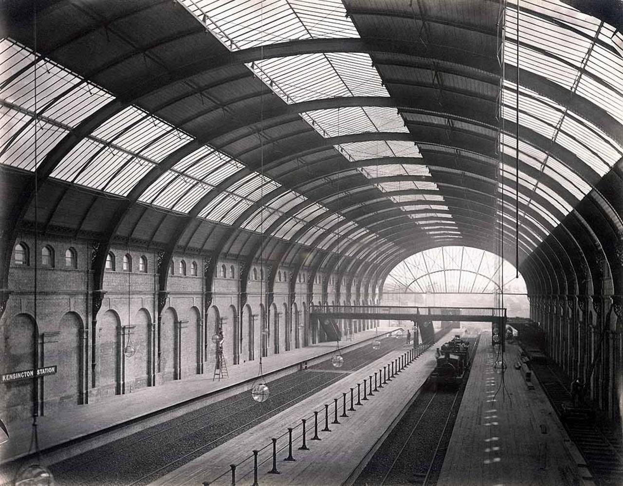 1868. Станция «Хай-стрит Кенсингтон»