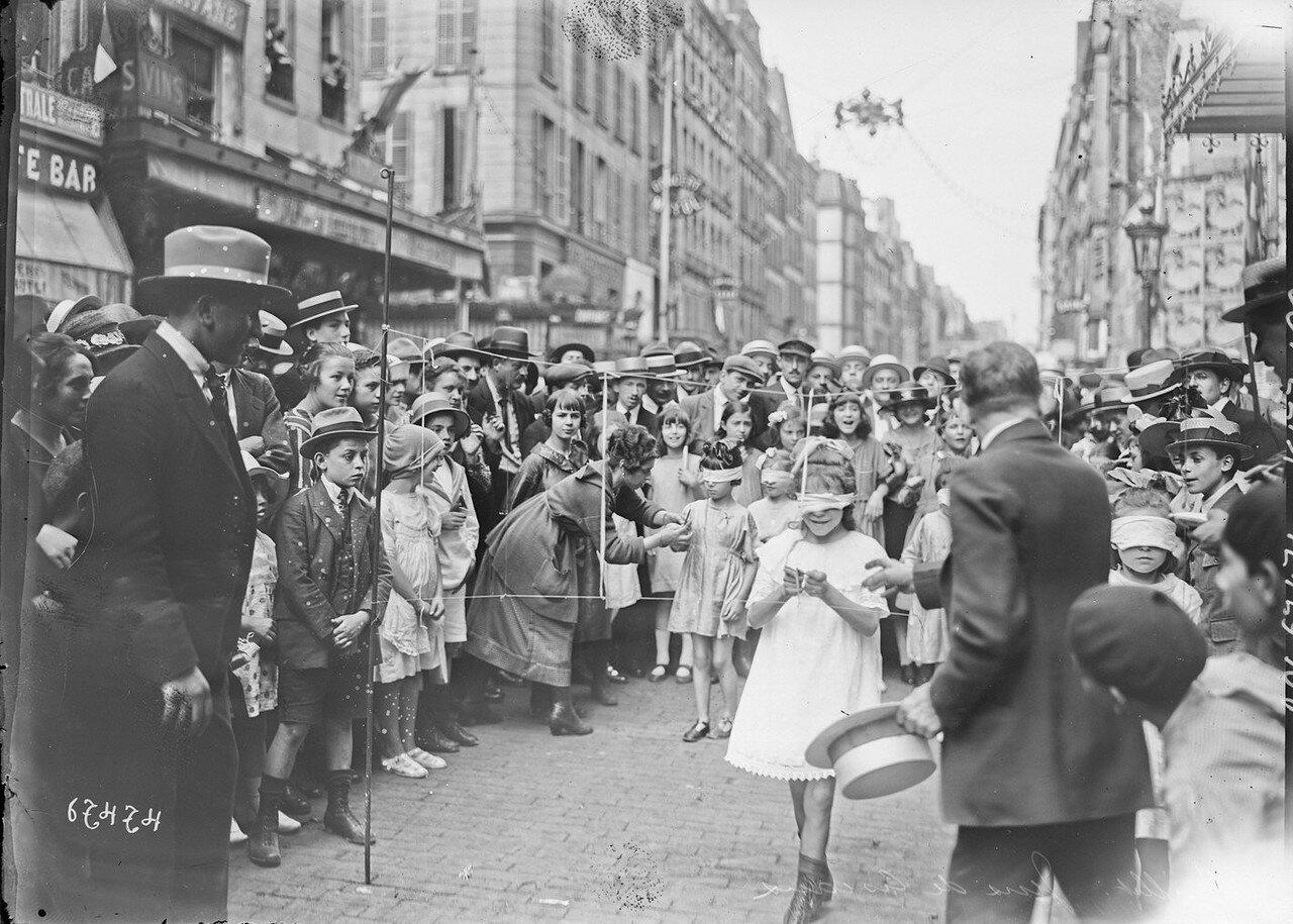 1921. Игра с ножницами
