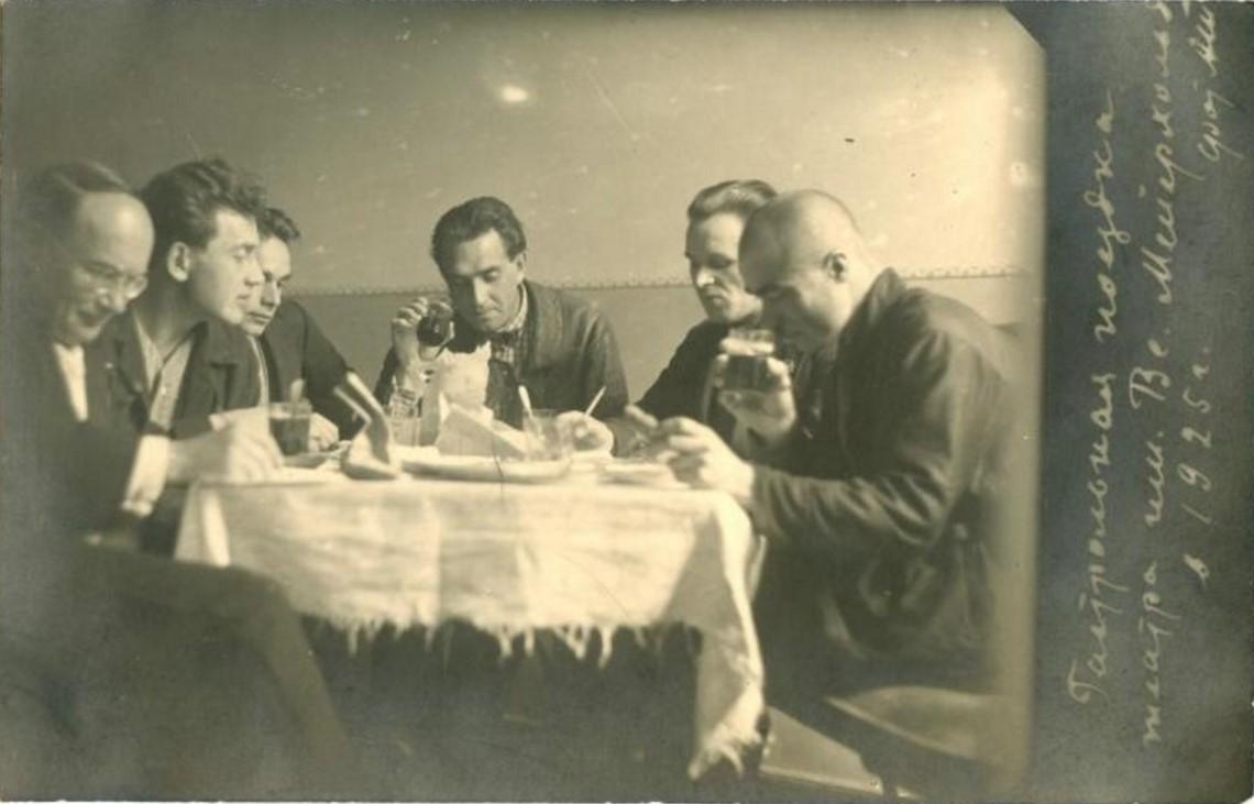 1925. Гастрольная поездка театра им. Всеволода Мейерхольда