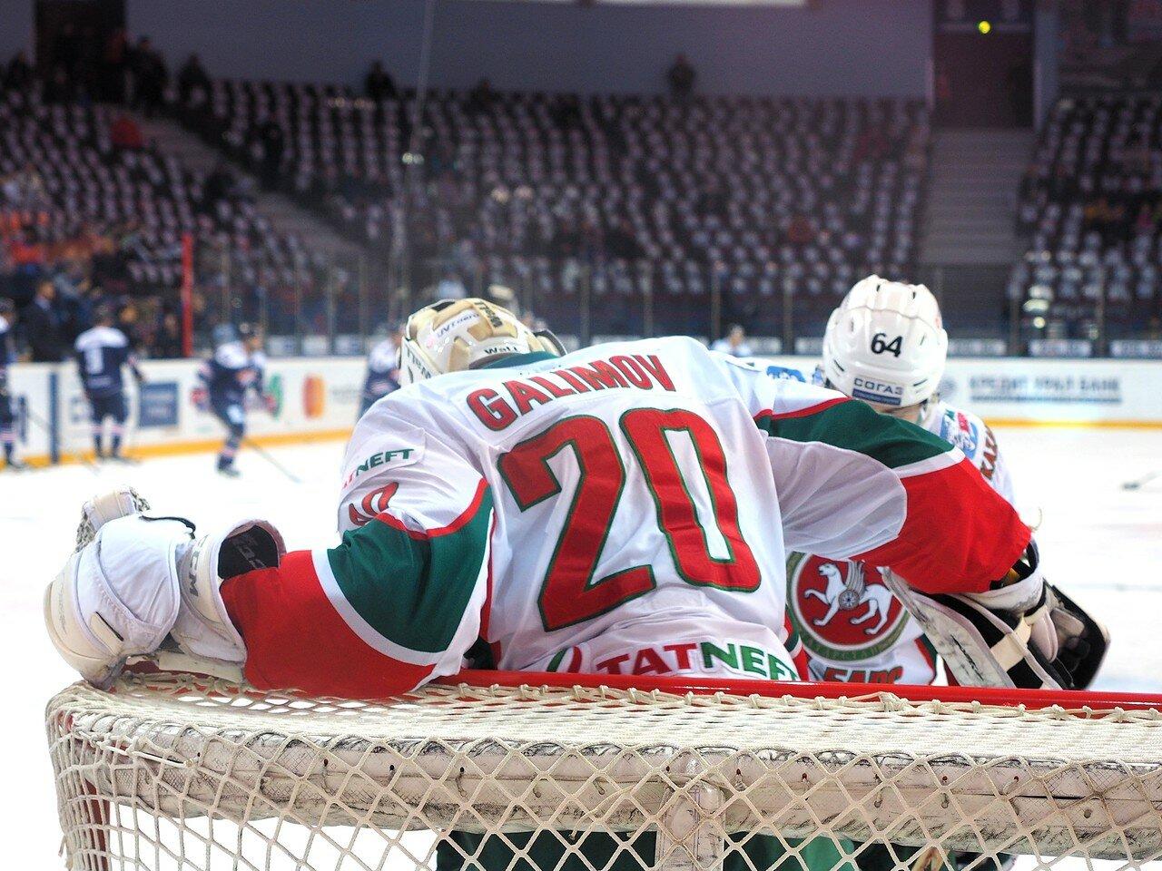 15 Первая игра финала плей-офф восточной конференции 2017 Металлург - АкБарс 24.03.2017