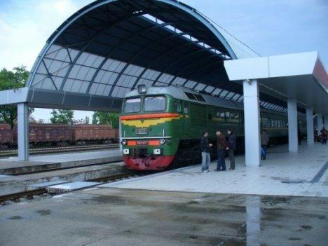 В Кишиневе женщина попала под поезд Кишинев-Москва