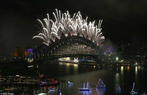 Фоторепортаж из Австралии, где встретили новый 2017-й год