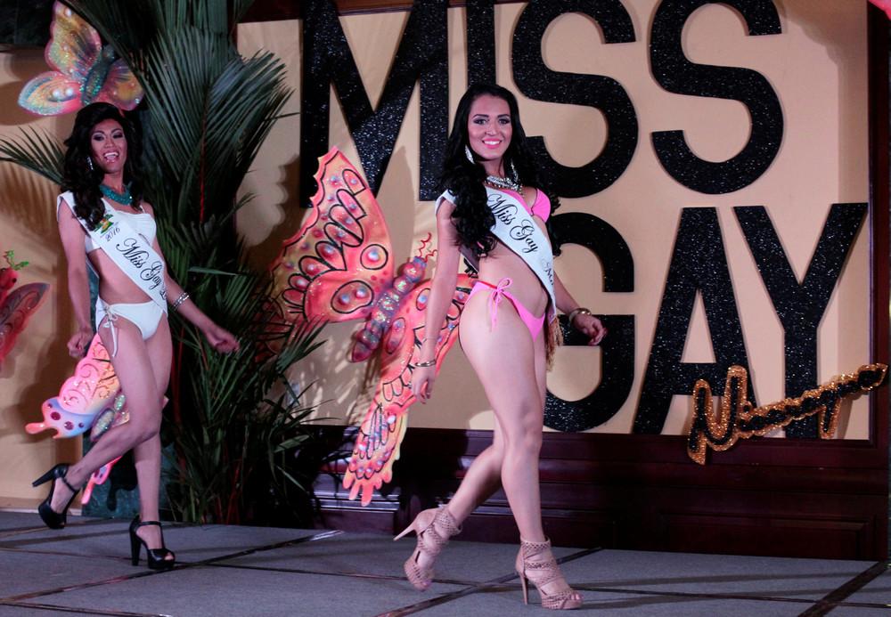 Конкурс «Мисс гей Никарагуа 2016»