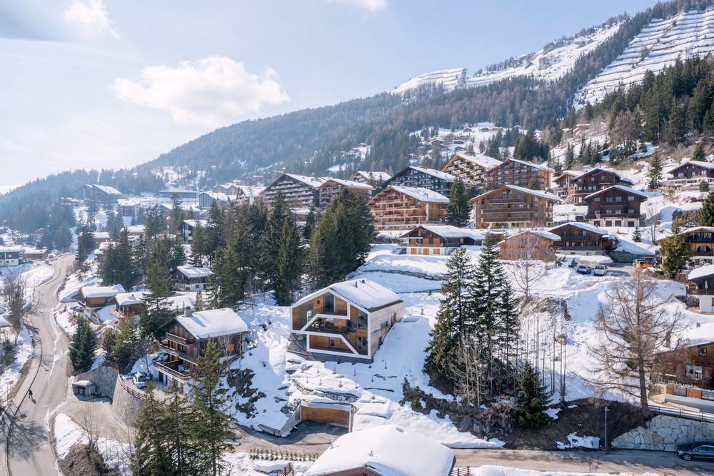 Реконструкция шале в Швейцарии