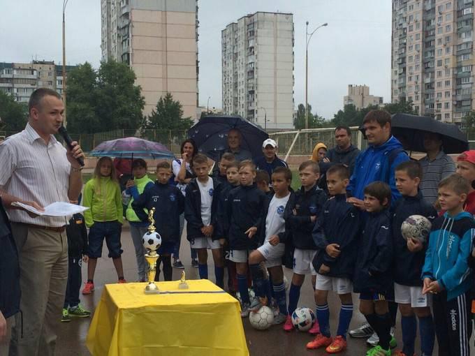 Свободовцы Киева к годовщине независимости организовали спортивное соревнование для молодых украинцев