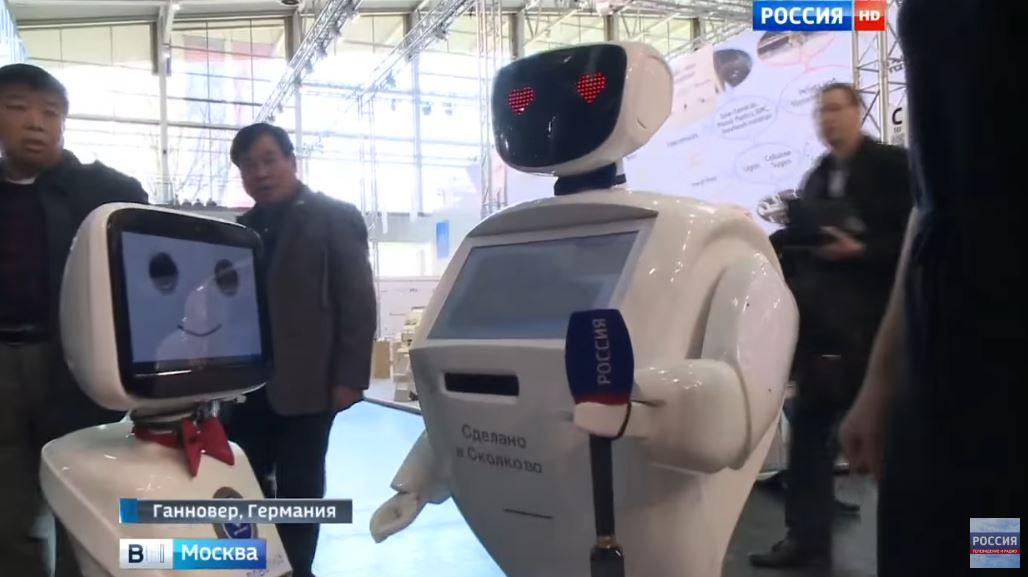 Роботы в Ганновере